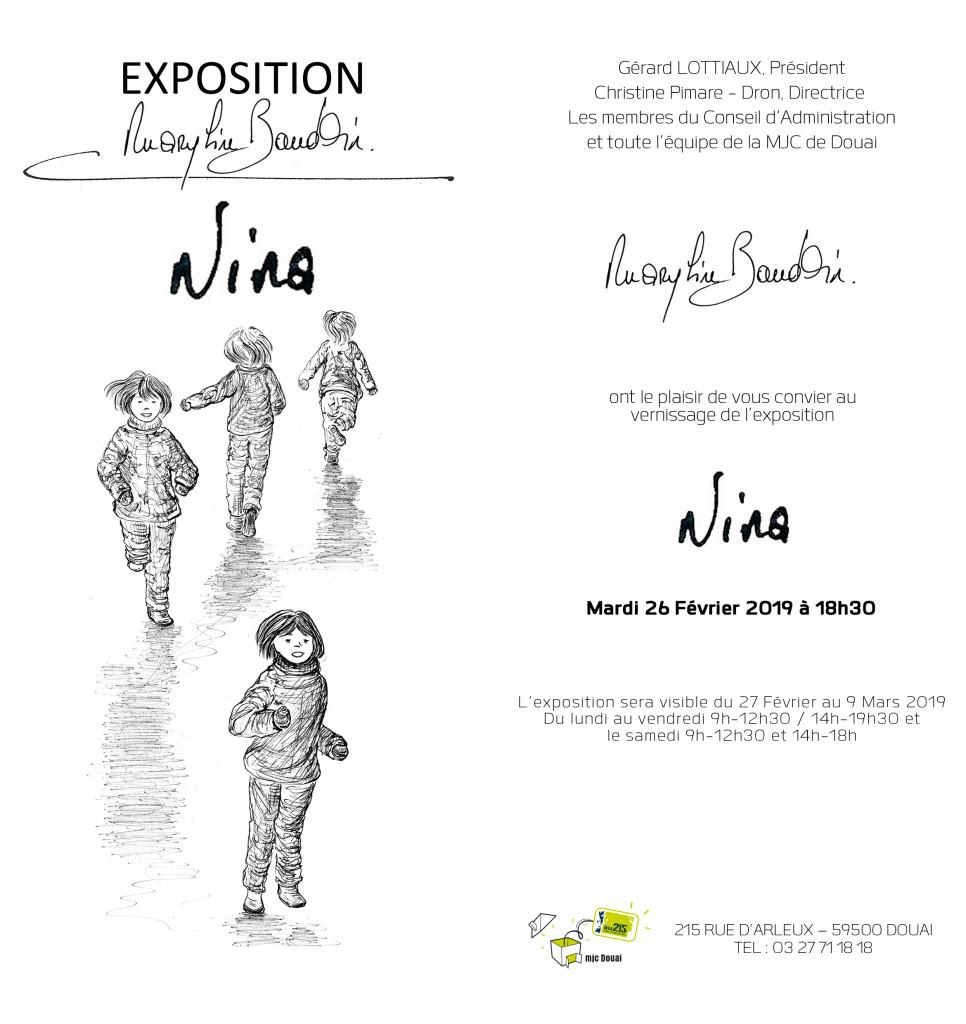 carton invitation Nina